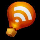 ballon,feed,rss icon