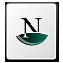 doc, netscape, paper, document, file icon