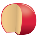 cheese edam icon
