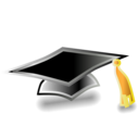 doctoral,cap icon