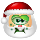 Santa Claus Sick icon