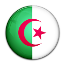 country, algeria, flag icon