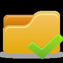 Folder Accept icon