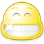 big, emotion, face, happy, emot, gnome, smile icon