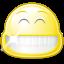 smile, face, laugh, gnome, big icon