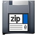 disk, zip, unmount icon