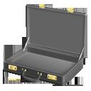 briefcase, fiction, pulp, empty icon