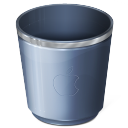 recycle bin, empty, blank, trash icon