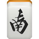 wind, mahjong, south icon