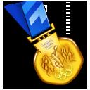 medal, award, gold icon