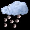 rain, hail icon