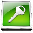 login, key, logout icon
