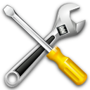 settings, tools, wrench, kit icon