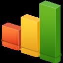 graph, bars, stats, statistics, seo, chart icon