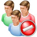 Cancel, Group icon