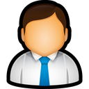 user, tie, administrator, executive, manager icon