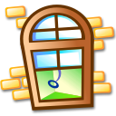 list, listing, window icon