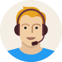 user, headset, man, support, male, young, avatar icon
