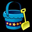 bucket,and,shovel icon
