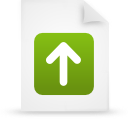 paper, document, green, file icon
