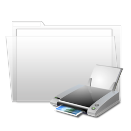 print, printer, my printer icon