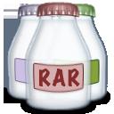 rar, fyle, type icon