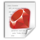 Application, Ruby, x icon