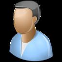 user,male,man icon