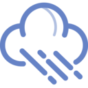 cloud rain icon