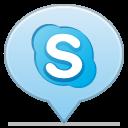 social balloon skype icon