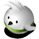 green, twitter, bird icon