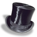 Hat, Silk, Top icon