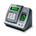 accounting, products, fingerprint, reader icon