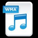 document, file, audio, paper, wma icon