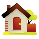 home, house, garden, building, homepage icon
