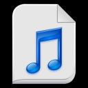 audio x generic icon