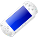 White Playstation Portable icon