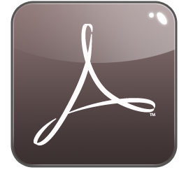 acrobat, distiller, adobe icon