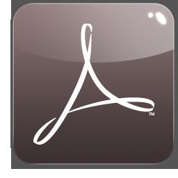 acrobat, distiller, adobe icon