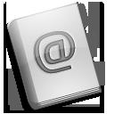 alt, adressbook icon