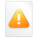 file, warning, paper, error, alert, exclamation, document, wrong icon