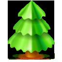 plant, christmas, tree icon