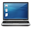 gnome, computer, laptop icon