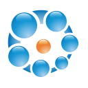 concept, connection, blue, ball, balls icon