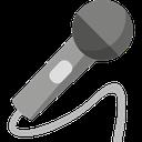 microphone, speech, talk, presentation, communication icon