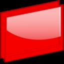 red,folder icon