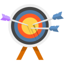 Arrow Bulls Eye icon