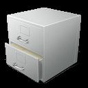 file, cabinet icon