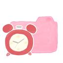 candy, clock, folder, ak icon