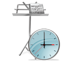 Clock, Mydocuments icon